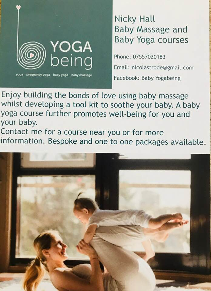 Baby Yoga Being With Nicky Hall