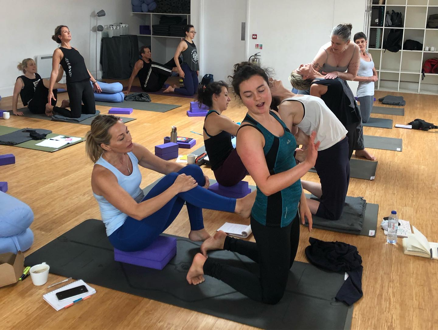 Weekend CPD Teacher training workshopMastering the art of hands-on assists and adjustments– translating energy through touch with Brigitte Riley