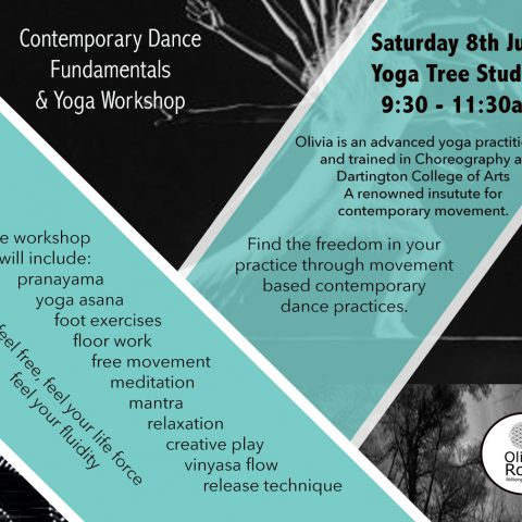 Contemporary Dance Fundamentals & Yoga Workshop with Olivia Rose - Price £25