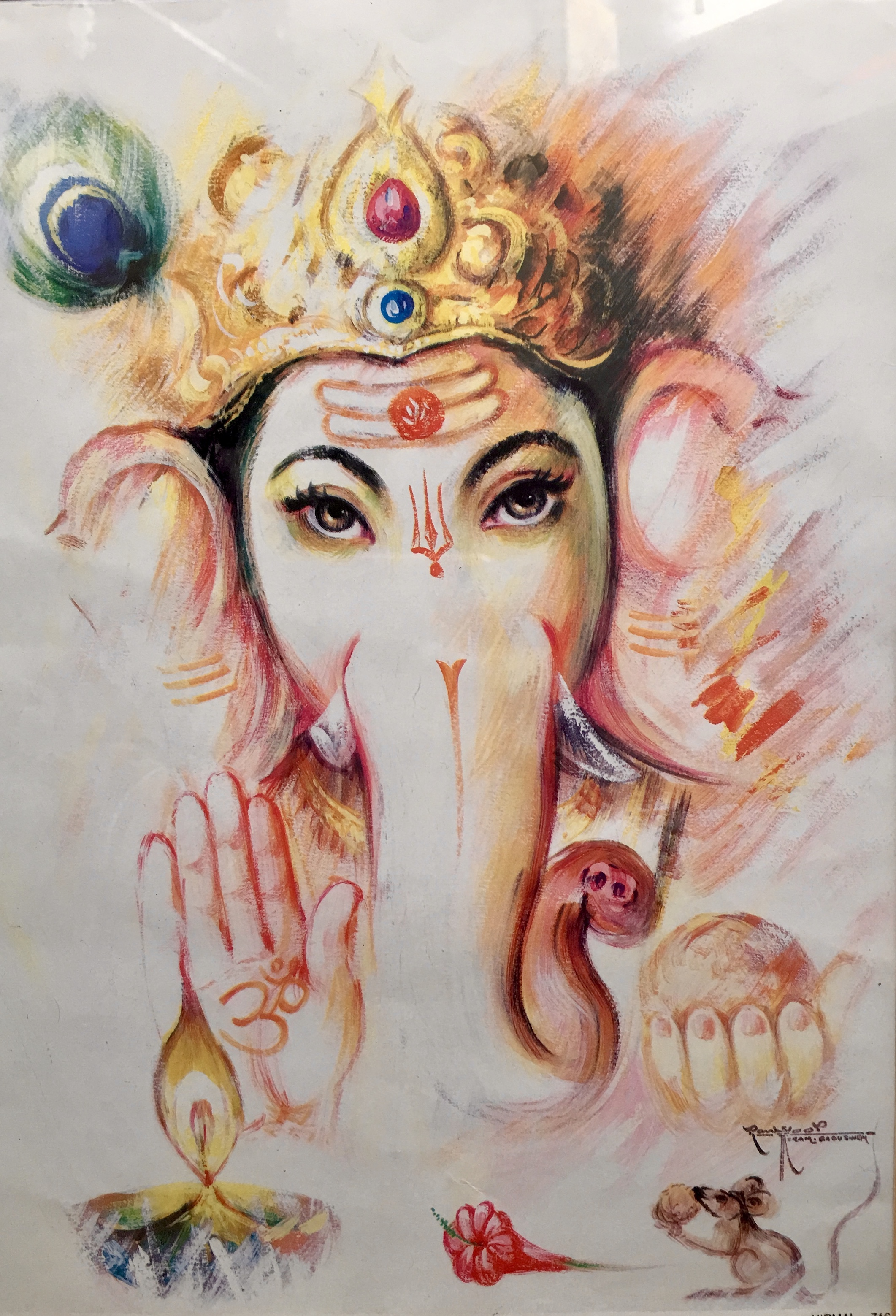 Yoga, Myth & Magic series workshop 1  Ganesha – Grounding and Positivity with Rosemary Booker - Price £25