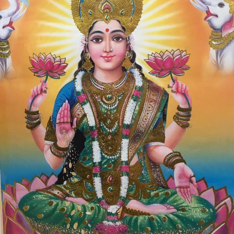 Yoga, Myth & Magic Workshop 2 Lakshmi - Abundance and Harmony With Rosemary Booker - Price £25