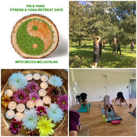 Yin & Yang Fitness & Yoga Small Group Retreat Day -  ( Early Bird Offer £70 expires 27/09/2020)
