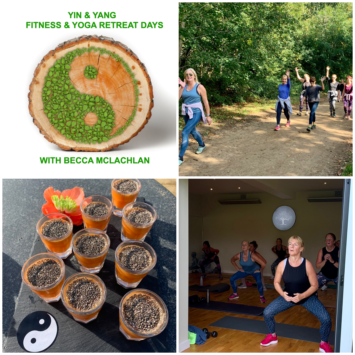 Yin & Yang Fitness & Yoga Small Group Retreat Day - (FULLY BOOKED - email becca@becca-mclachlan.com to be added to the cancellation list)
