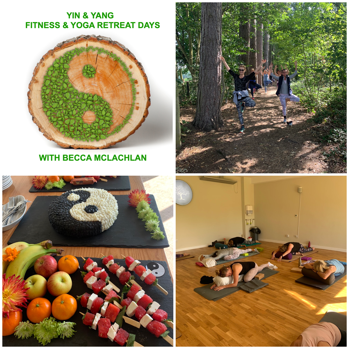 Yin & Yang Fitness & Yoga Small Group Retreat Day - £70