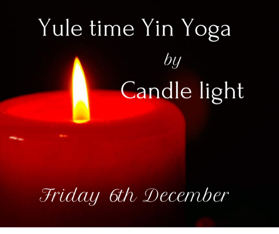 Yule Yin Yoga By Candle Light With Rosemary Booker  - FULLY BOOKED